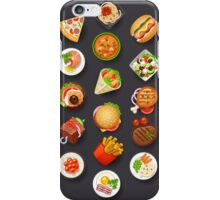 Food Happiness iPhone Case/Skin