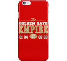 The Golden Gate Empire iPhone Case/Skin