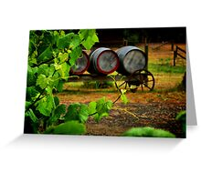 """Vine to Vintage"" Greeting Card"