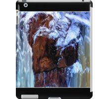 Blurring the Colorlines Poster iPad Case/Skin