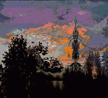 Evening Silhouettes by Deborah Dillehay