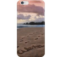 Aloha Kaanapali Beach iPhone Case/Skin