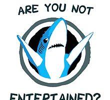 Left Shark - Katy Perry - SB49 by kramprusz