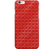 Cassette Tapes in Scarlet iPhone Case/Skin