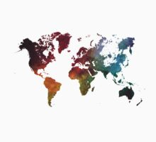 World map Kids Clothes