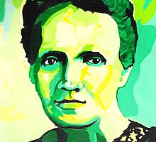 Marie Curie by Stacy