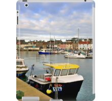 scottish harbor   iPad Case/Skin