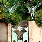 Bisbee Angel Gate by Kimberly Miller