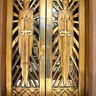 bisbee courthouse doors2 by Kimberly Miller