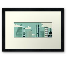 Big City View Framed Print