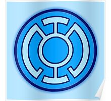 Blue Lantern Corps Poster