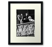 Dummy Party Framed Print