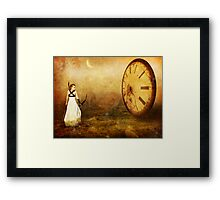 Killing Time Framed Print