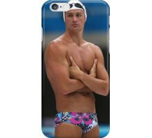 Swimming Ryan Lochte Top iPhone Case/Skin
