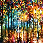 Magic Park — Buy Now Link - www.etsy.com/listing/224695774 by Leonid  Afremov