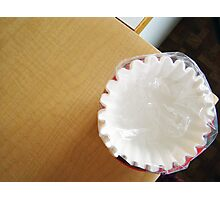 Another Coffee Filter  Photographic Print