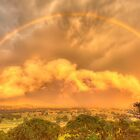 Ovens Valley rainbow by Kevin McGennan