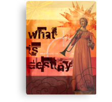 What is destiny? Metal Print
