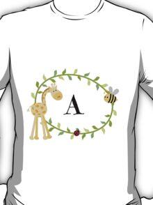 Nursery Letters A T-Shirt