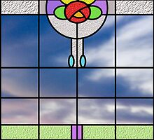Stained glass vision by Stephen Denham