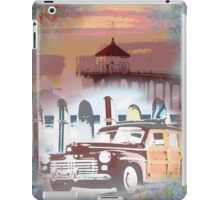 Manhattan Beach California Pier iPad Case/Skin