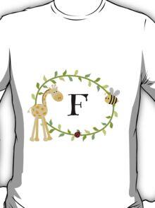Nursery Letters F T-Shirt