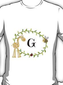 Nursery Letters G T-Shirt
