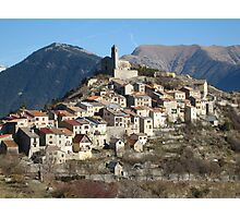 Perched village Photographic Print