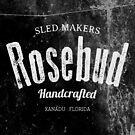 Rosebud company Sled Makers by inkDrop