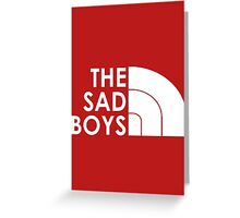 The Sad Boys Greeting Card