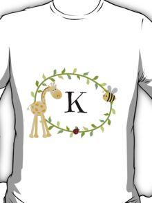 Nursery Letters K T-Shirt