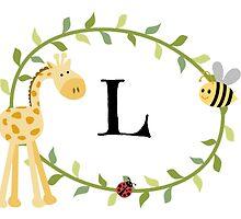 Nursery Letters L by mezzilicious