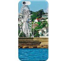 Torquay - A Cruise Ship View, Devon, England iPhone Case/Skin