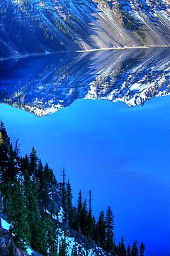 Crater Lake Reflection by Harry Snowden