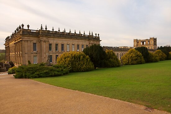 Chatsworth House by Duncan Payne