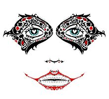 Sugar Harley Skull by LVBART