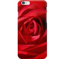 Red Petals Of A Rose iPhone Case/Skin