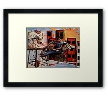 Dreams of Freedom Framed Print