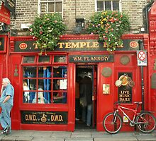 The Temple Bar, Dublin by Alice McMahon