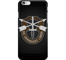 Special Forces Carbon iPhone / Samsung Galaxy Case iPhone Case/Skin