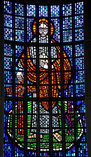 St Philip: Stained Glass Window by DonDavisUK