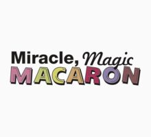 Miracle, magic, macaron tank top T-Shirt