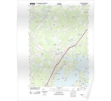 Maine USGS Historical Map Yarmouth 20110830 TM Poster