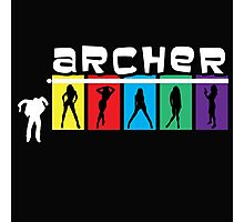 Archer Logo Shirt Photographic Print