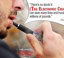 A quotographic by Wickedly Hot Vapors by Infographics