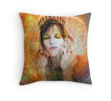 Princess Of Esteem Throw Pillow
