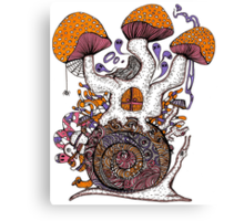 The Snail House Canvas Print