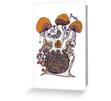The Snail House Greeting Card