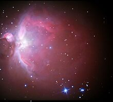 M42 nebula in orion by 3rdrock