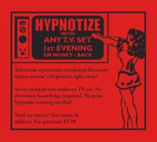 Hypnotize with any TV set! by Mel Preston